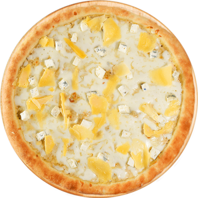 доставка пиццы буча 4 сыра изображение