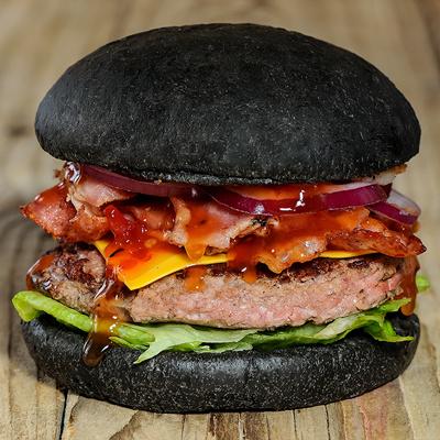 фото черный бургер ирпень буча