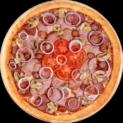 фото пицца 4 мяса