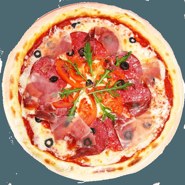 пицца с прошутто буча тосканская фото