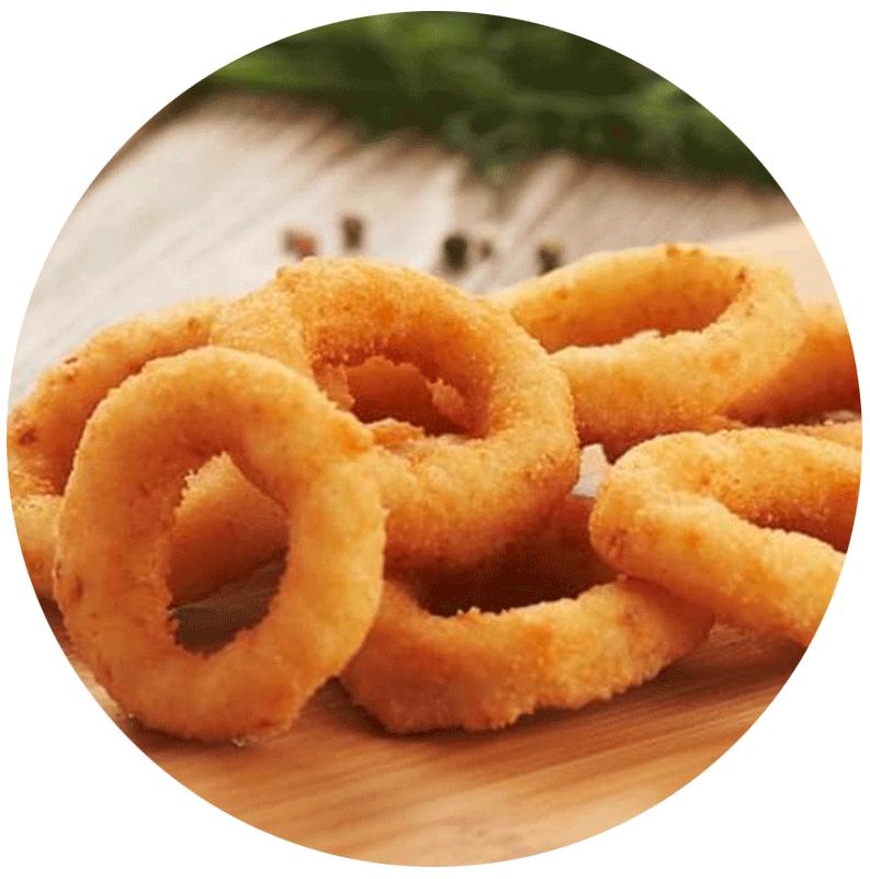 фото луковые кольца доставка еды буча