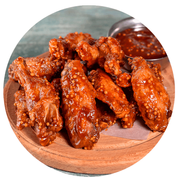 доставка еды ирпень, буча, ворзель куриные крылышки BBQ