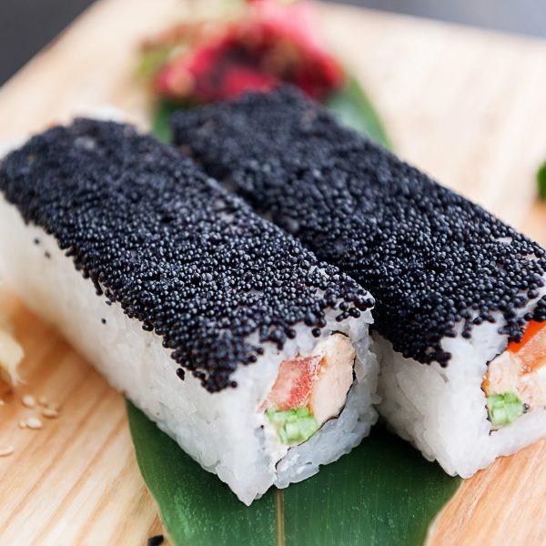 фото черный ролл ирпень суши