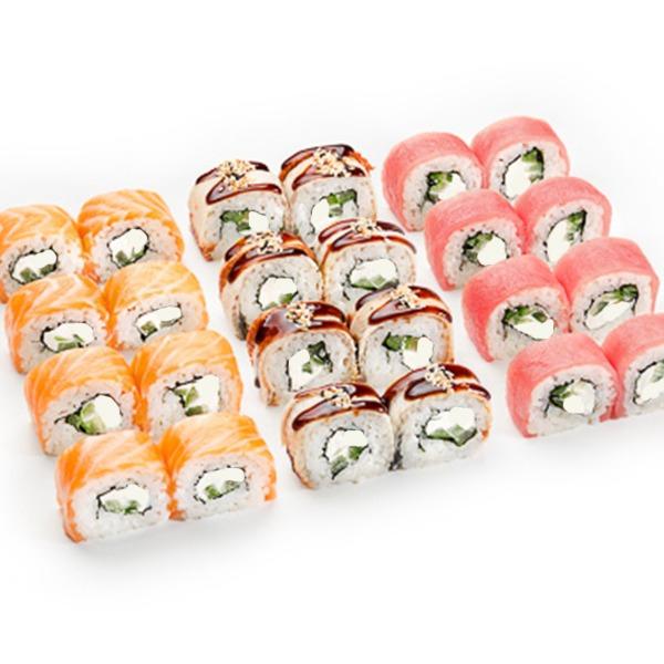сет суши филадельфия фото