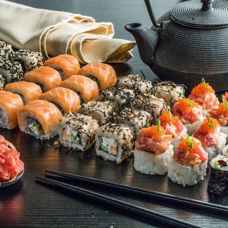 суши сет love фото