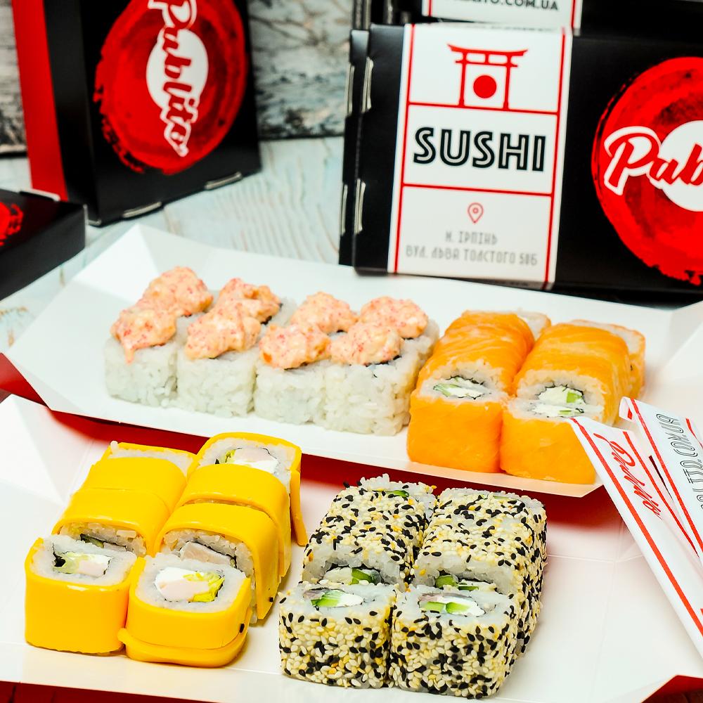 сет_happy суши буча фото
