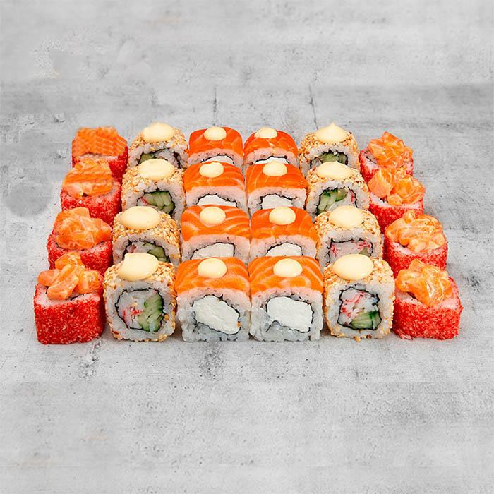 суши сет смайл с доставкой в ирпене и буче
